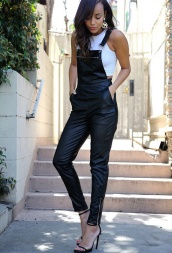 overall leather